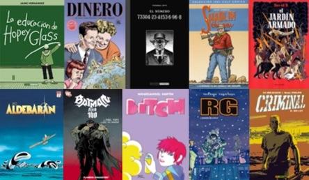 lo mejor de 2008 comics