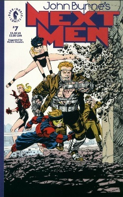 John Byrne&#39;s Next Men 07-00