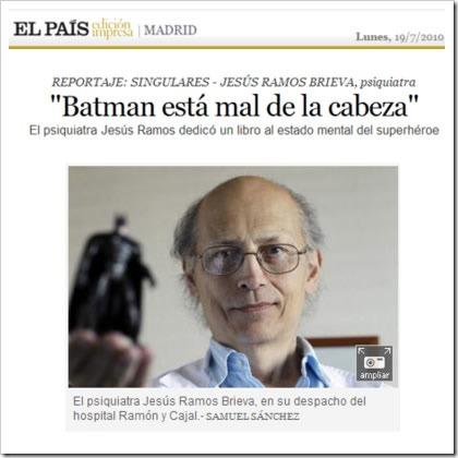 Batman al psiquiatrab