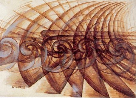 Lampada ad arco (1909) - Giacomo Balla