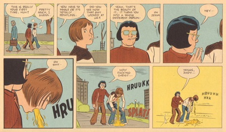 Daniel Clowes - The Death Ray (2)