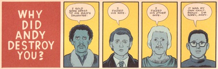 Daniel Clowes - The Death Ray (4)