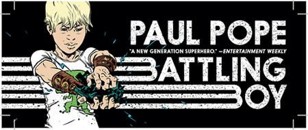 battling boy banner