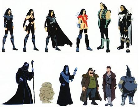 F.A.K.K.personajes