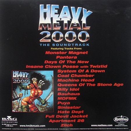 Flat Heavy Metal 2000