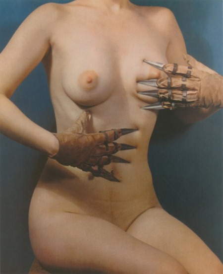 Paul Outerbridge - Woman with Claws (1937)