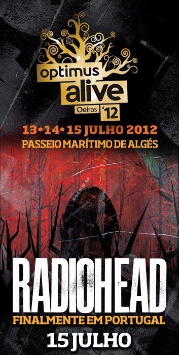 Optimus Alive 2012 - Radiohead