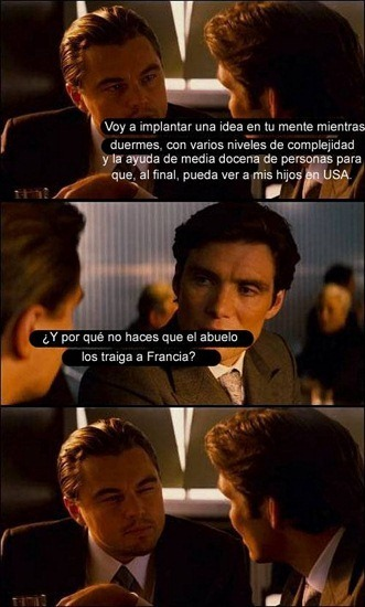 Inception y sus lagunas argumentales