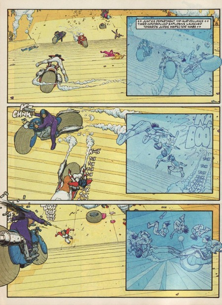 frank quitely and robbie morrison. inaba. babes with big bazookas. page. 008