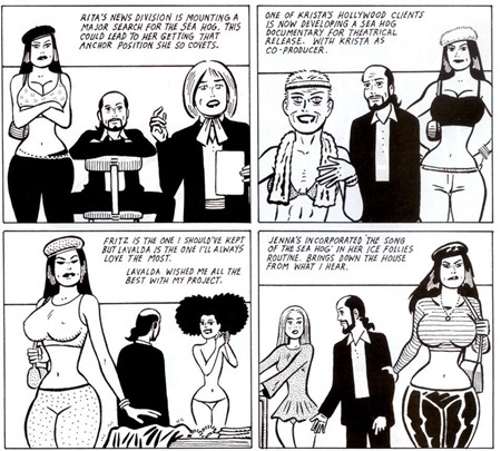 Love & Rockets v2 #13 - página 12