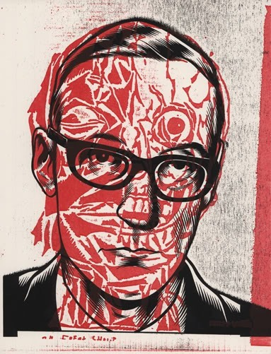 William Burroughs por Charles Burns y Gary Panter
